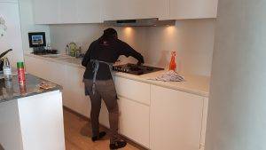Cleaning Kitchen Seams
